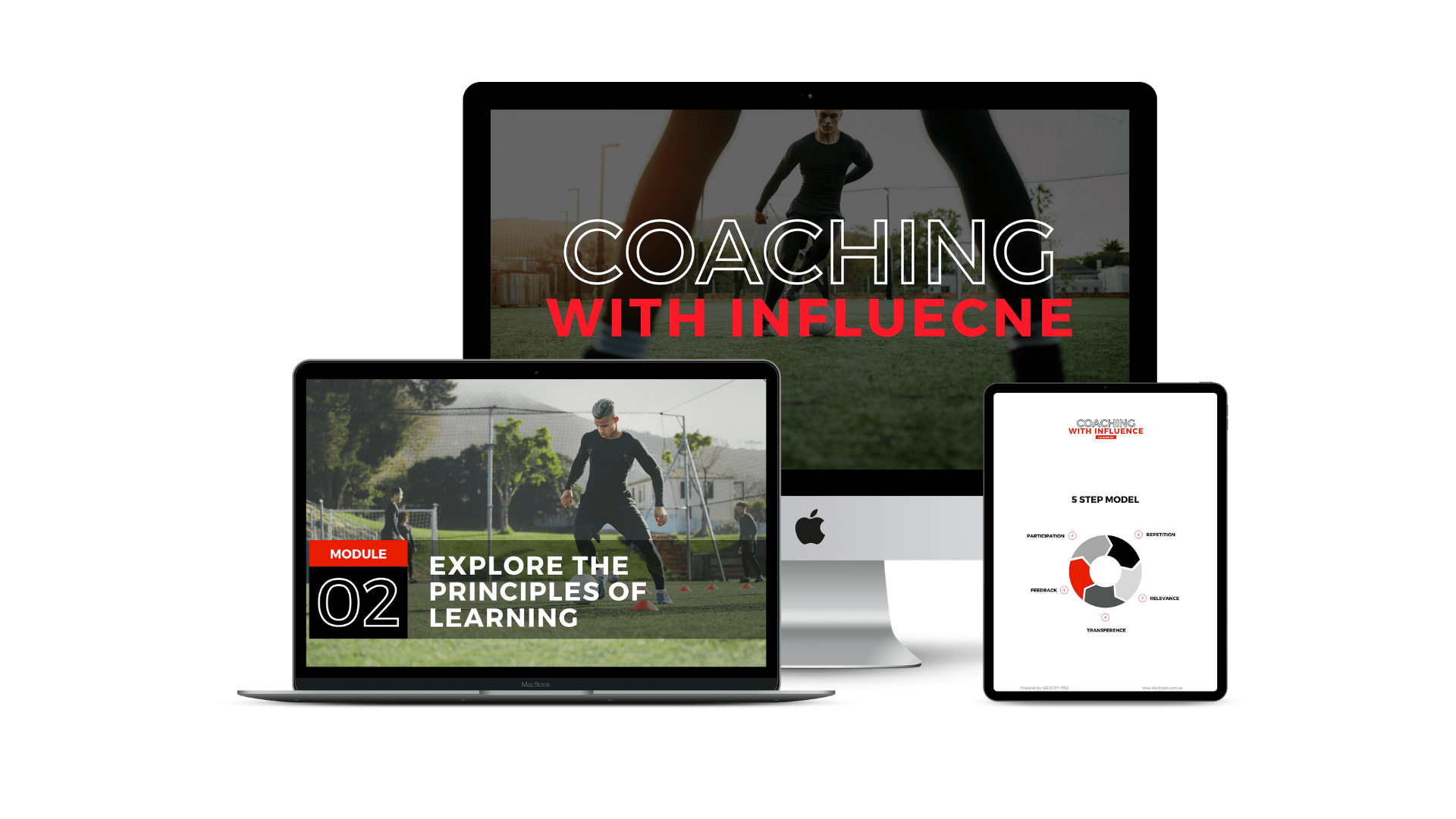 Coaching With Influence Online Course Mock Up
